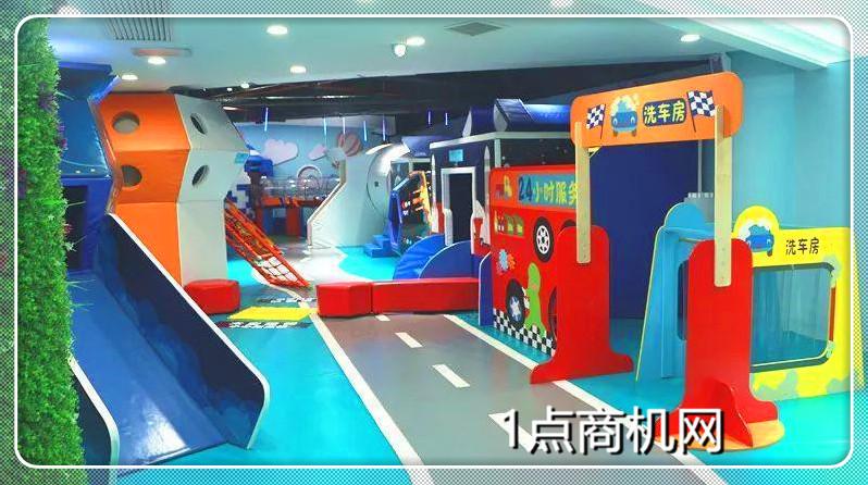 游乐场所创业项目:淘气堡儿童乐园